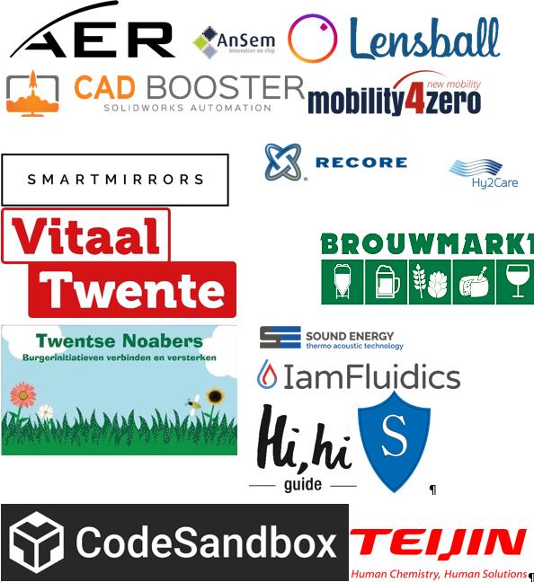Diverse logo's Frank Roben
